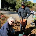 Garden Volunteers help keep the Lourie Center campus beautiful!